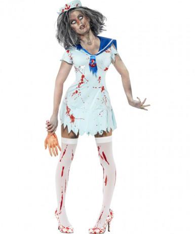 Costume marinaio zombie donna Halloween
