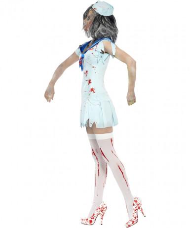 Costume marinaio zombie donna Halloween-2
