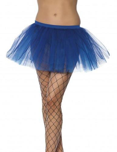 Tutù blu donna