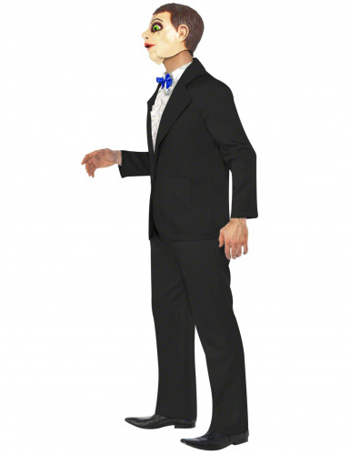 Costume da ventriloquo uomo per Halloween-2