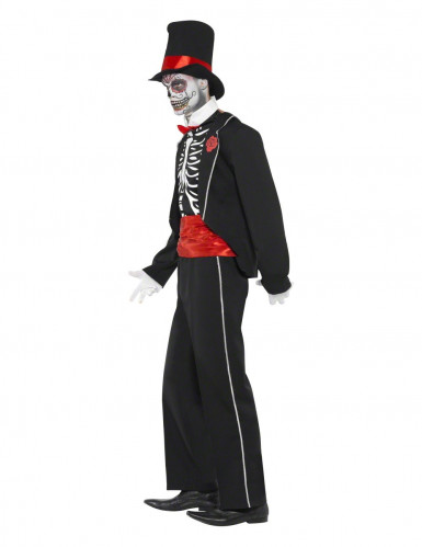 Costume gentleman scheletro adulti Halloween-2