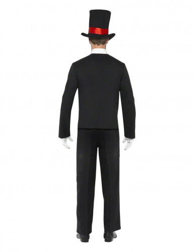 Costume gentleman scheletro adulti Halloween-1