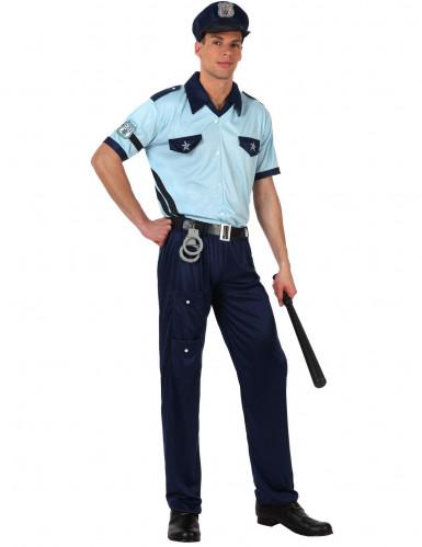 Costume poliziotto adulto