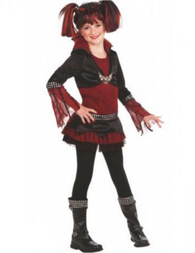 Costume gotico bambini Lilith per bambina