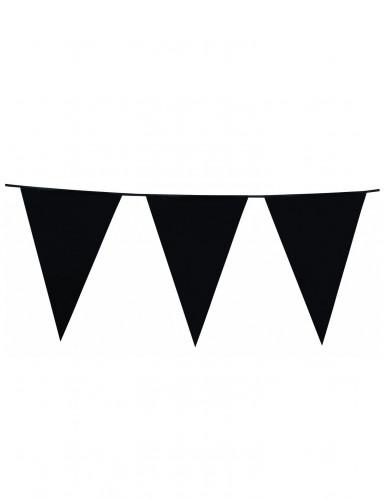 Ghirlanda bandiere nera