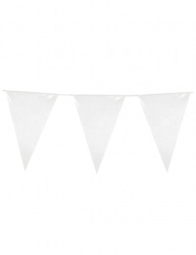 Ghirlanda bandiere bianca