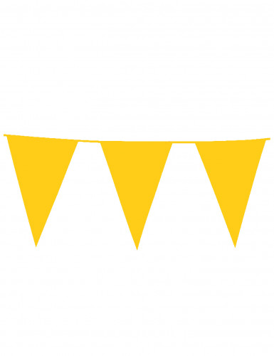 Ghirlanda bandiere gialla