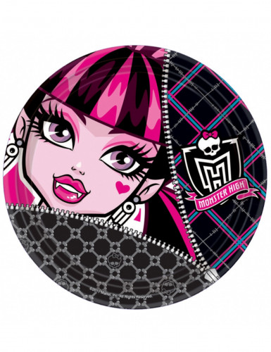 Lotto di 8 piatti Monster High™ Halloween