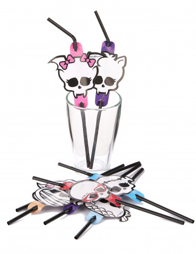Cannucce flessibili Monster High™ Halloween-1