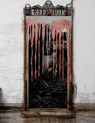 Tenda da porta Halloween