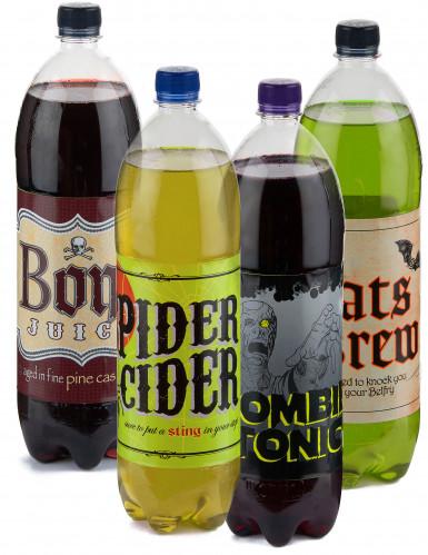 Etichette adesive per bevande Halloween-3