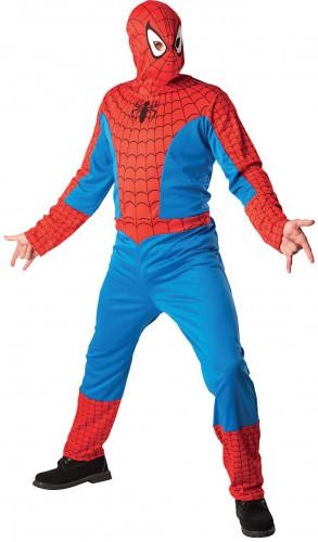 Costume Spiderman™ adulto con cappuccio