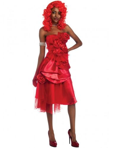 Costume Rihanna™ donna rosso