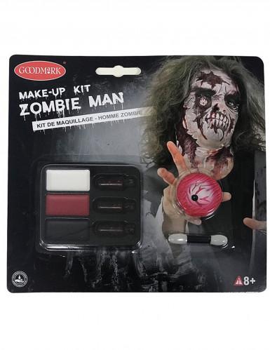 Kit trucco zombie adulto Halloween-2