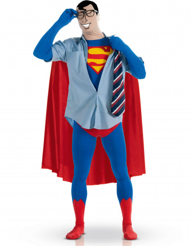 Costume seconda pelle Superman™ adulto-1