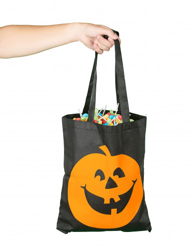 Sacchetto per caramelle zucca di Halloween-1
