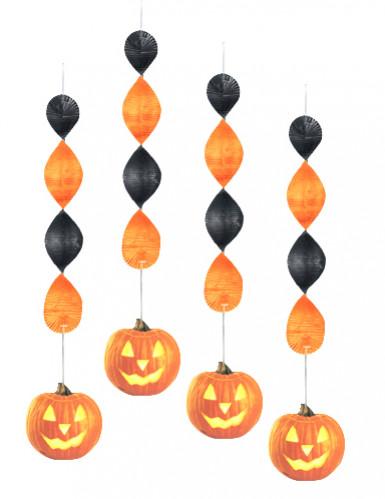 Ghirlande verticali con zucca Halloween
