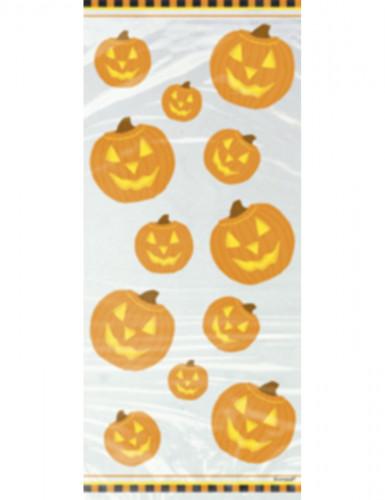 20 sacchetti cellofan zucca Halloween