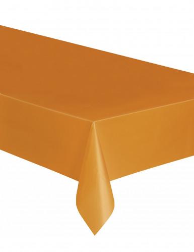 Tovaglia di plastica arancione