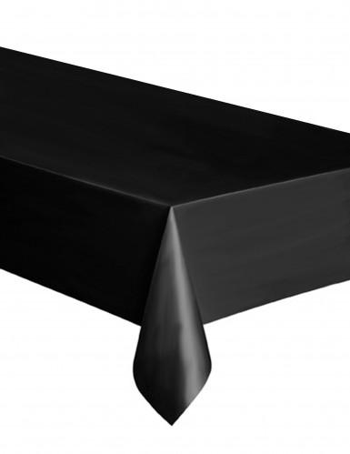 Tovaglia di plastica nera