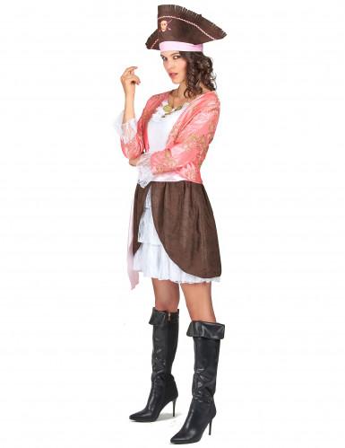 Costume pirata donna rosa-1