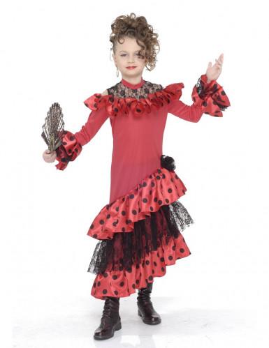 Costume ballerina flamenco bambina
