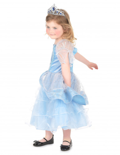 Costume principessa in azzurro bambina-1