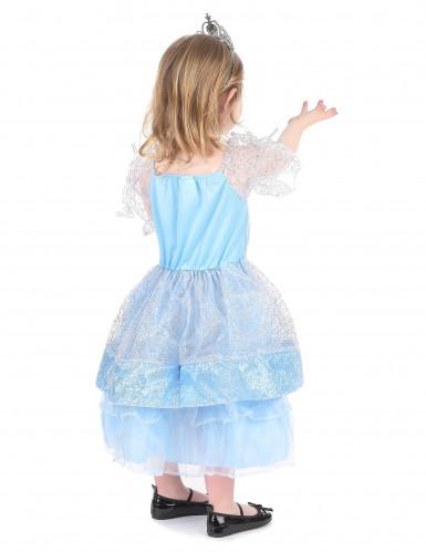 Costume principessa in azzurro bambina-2