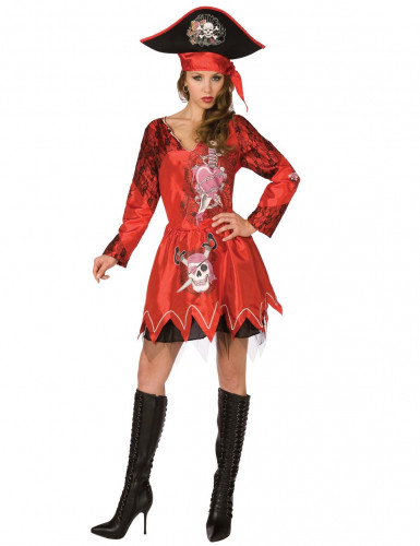 Costume pirata adulti donna