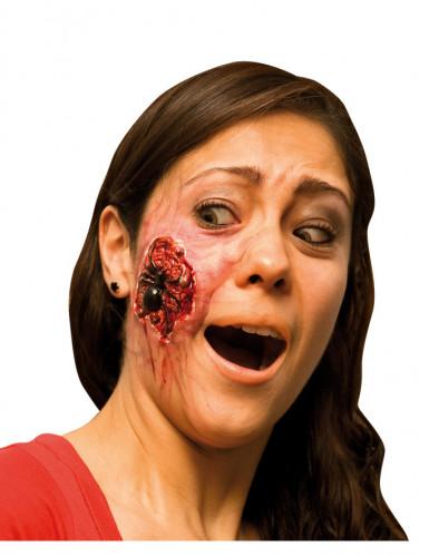 Finta ferita ragno adulto Halloween