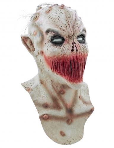 Maschera bocca cucita adulto Halloween