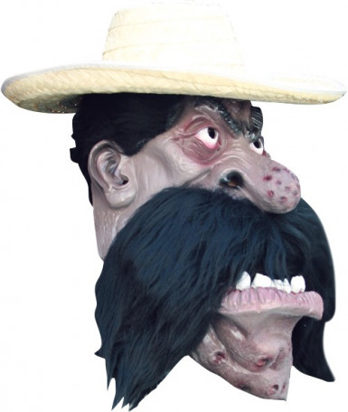 Maschera messicano adulto Halloween