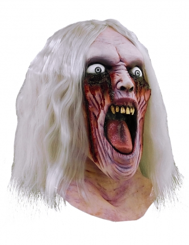 Maschera zombie sanguinante adulto Halloween