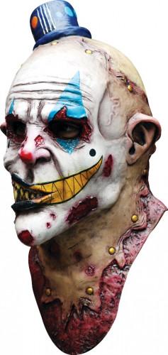 Maschera clown mostruoso adulti Halloween