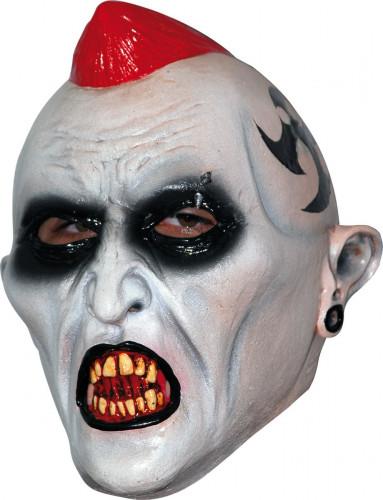 Maschera punk diabolico adulti Halloween