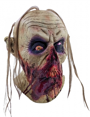 Maschera zombie sanguinante adulti Halloween