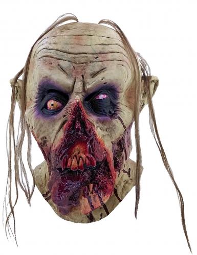 Maschera zombie sanguinante adulti Halloween-1