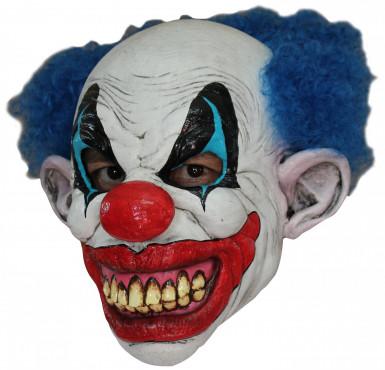Maschera clown malefico adulto Halloween