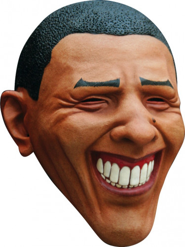 Maschera presidente Obama adulto