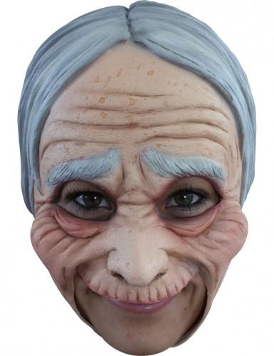 Maschera vecchia donna adulto Halloween