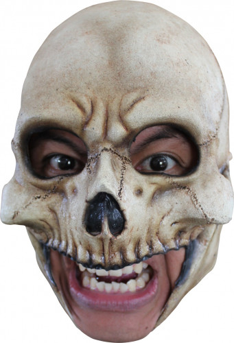 Maschera cranio adulto Halloween