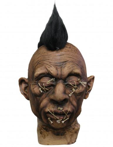 Decorazione voodoo con cresta adulto Halloween