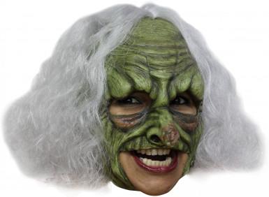 Maschera strega verde adulto Halloween