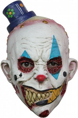 Maschera clown spaventoso Halloween