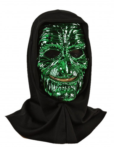 Maschera stregone adulto Halloween