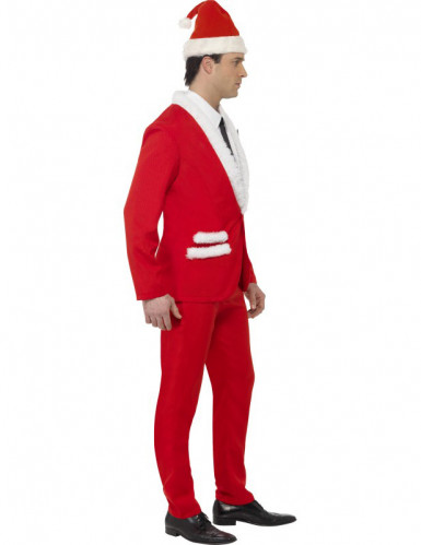 Costume Babbo Natale elegante adulto-2