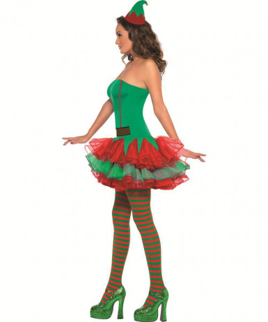 Costume elfo sexy adulto donna-2