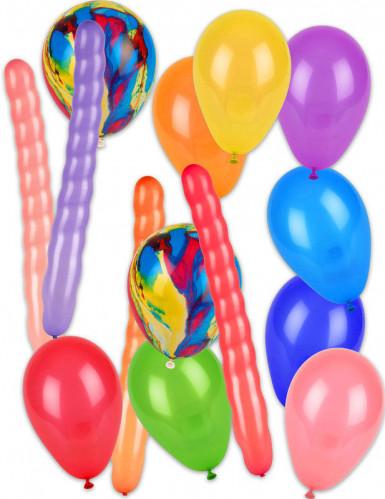 Pack 57 palloncini con pompa-1