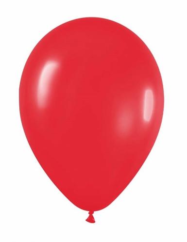 24 palloncini rossi 25 cm