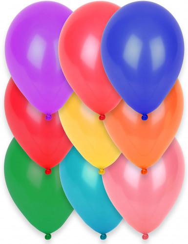 12 palloncini di diversi colori 28 cm